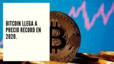 CHF Advisors Noticias Diciembre 30 - Bitcoin llega a precio récord en 2020