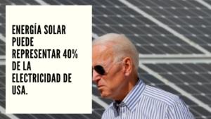 CHF Advisors Noticias Septiembre 8 - Energía solar puede representar 40% de la electricidad de USA